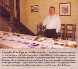 Jornadas Micologicas, Diario de Burgos