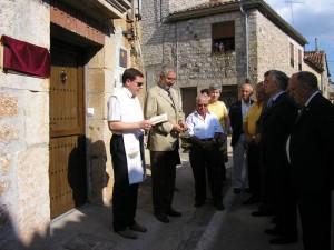 Inauguración Albergue La Corneja, Mecerreyes, 3-07-2010 (3)