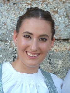 Vanessa Marina Cuevas, Dama Fiestas Mecerreyes 2013