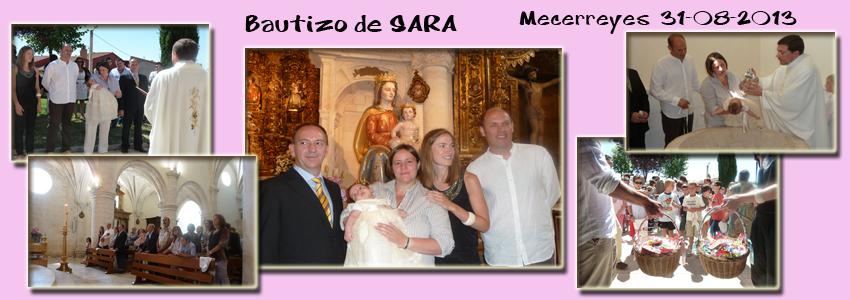 Bautizo Sara 31-08-2013