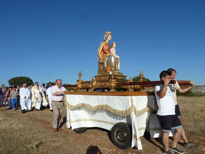 Mecerreyes bajada de la Virgen 2013 a