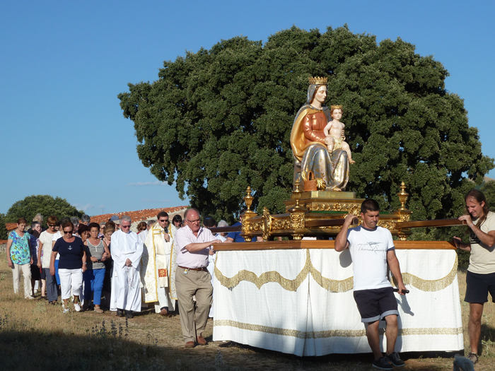 Mecerreyes bajada de la Virgen 2013