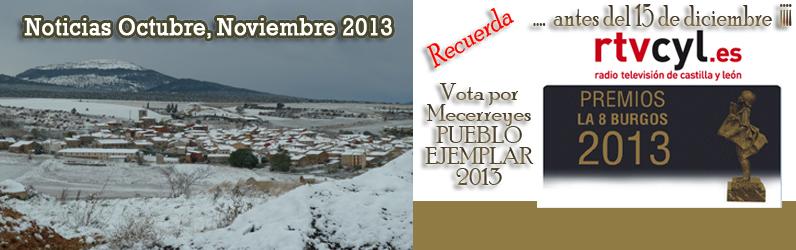 Mecerreyes, nominado como Pueblo Ejemplar 2013