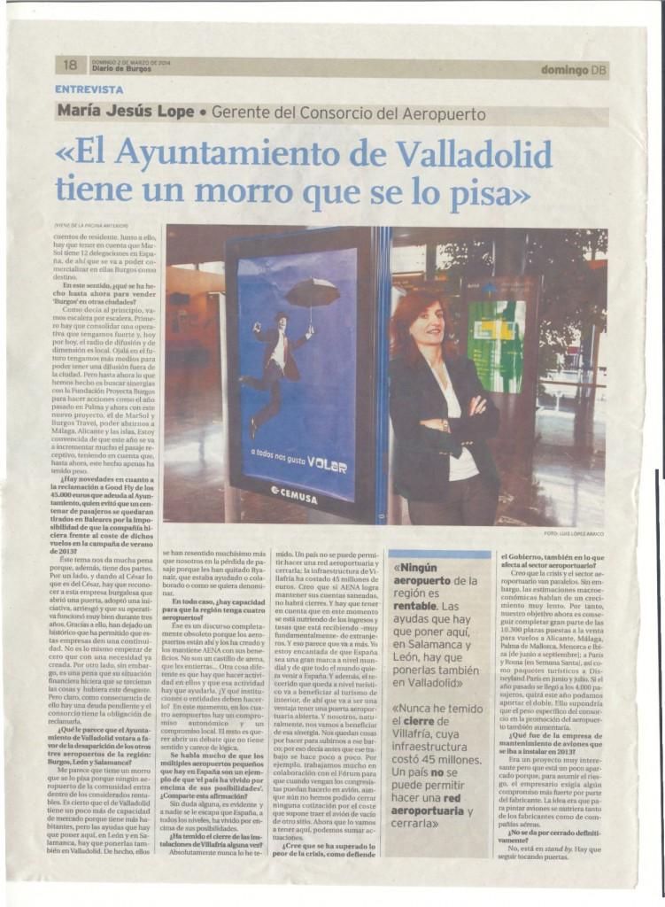 Entrevista a Maria Jesús Lope DBurgos 2-03-2014 c