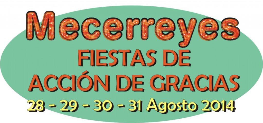 Mecerreyes, Fiestas Acción de Gracias 2014