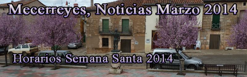Mecerreyes, Marzo 2014