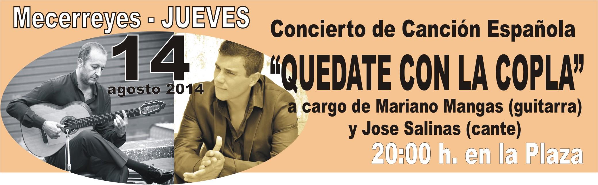 Mecerreyes, Verano Cultural 2014-Mariano Mangas y Jose Salinas