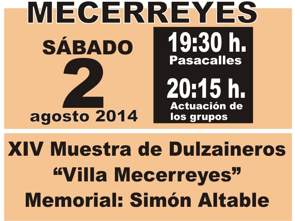 Mecerreyes, Verano Cultural 2014-Muestra de Dulzaineros 1