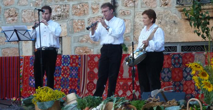 Dulzaineros ABÁLEZ de Aranda de Duero - Mecerreyes, Muestra Dulzaineros 2-08-2014