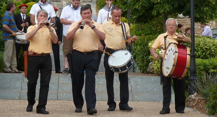 Dulzaineros Támbara - Mecerreyes, Muestra Dulzaineros 2-08-2014