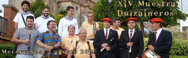 Mecerreyes, Muestra Dulzaineros 2-08-2014
