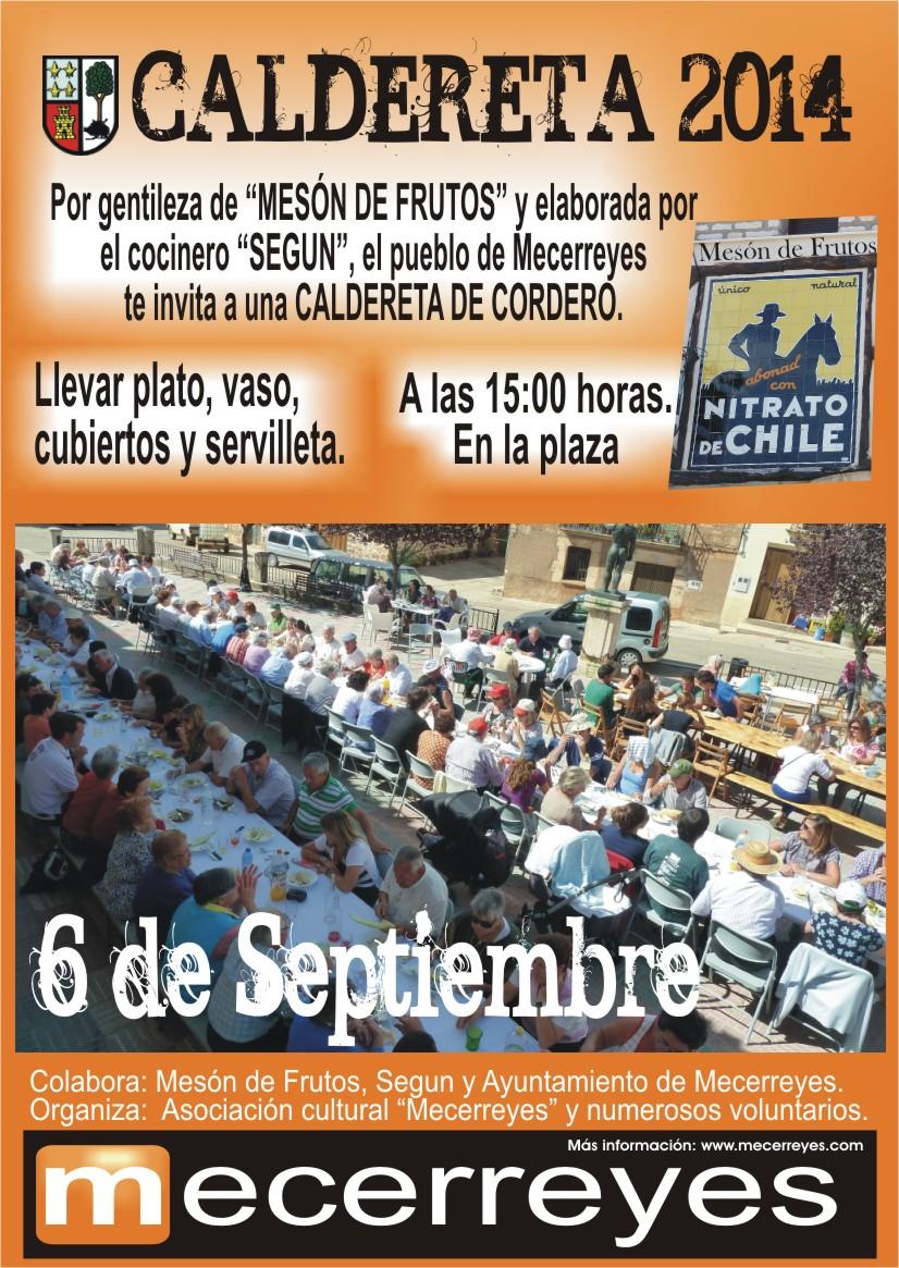 Mecerreyes, Caldereta 2014