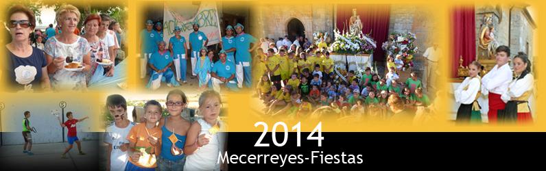 Mecerreyes, Fiestas de Acción de Gracias y Nuestra Señora del Camino, Agosto 2014