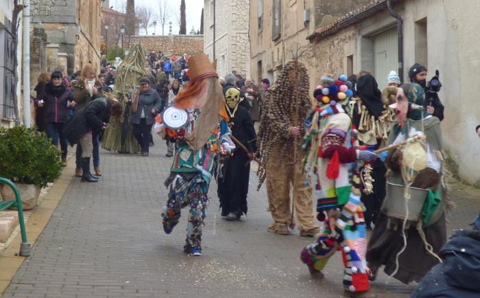 Zarramacadas y Carnavaladas en Mecerreyes. Domingo Gordo, 15 de febrero de 2015