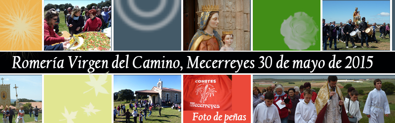 Mecerreyes, Romería Virgen del Camino, 30 mayo 2015