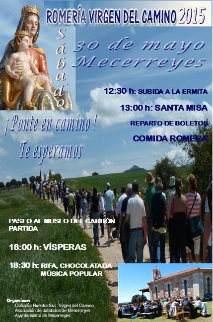 Mecerreyes, Cartel Romería Mayo 2015