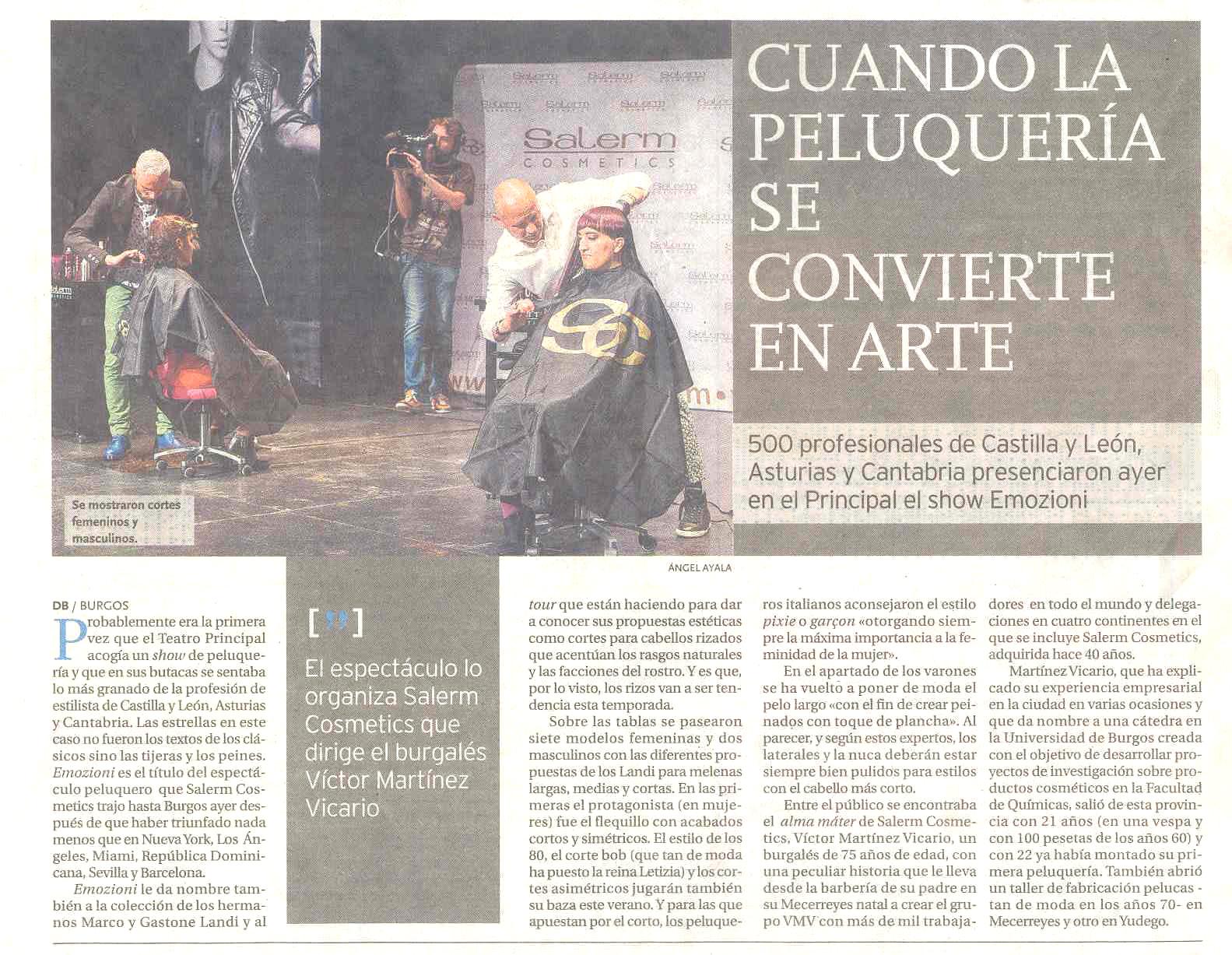 Diario de Burgos, 9-06-2015, Salerm