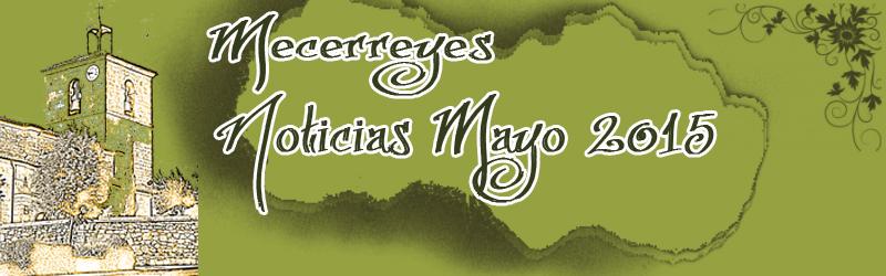 Mecerreyes, Noticias Mayo 2015