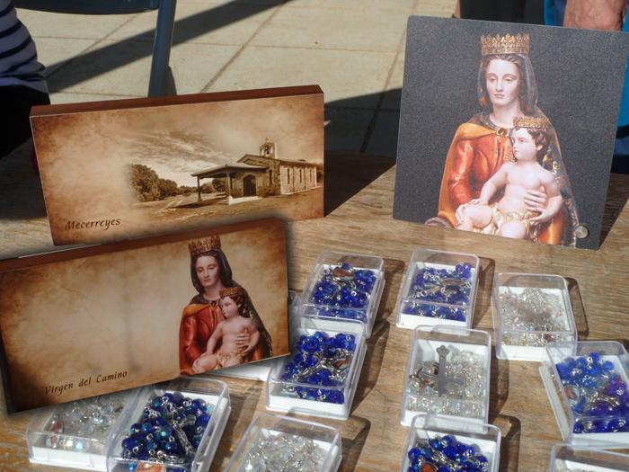 Mecerreyes, Romeria 30-05-2015, rosarios