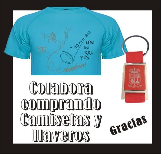 Mecerreyes, Agosto Cultural 2015 (Camisetas y llaveros)