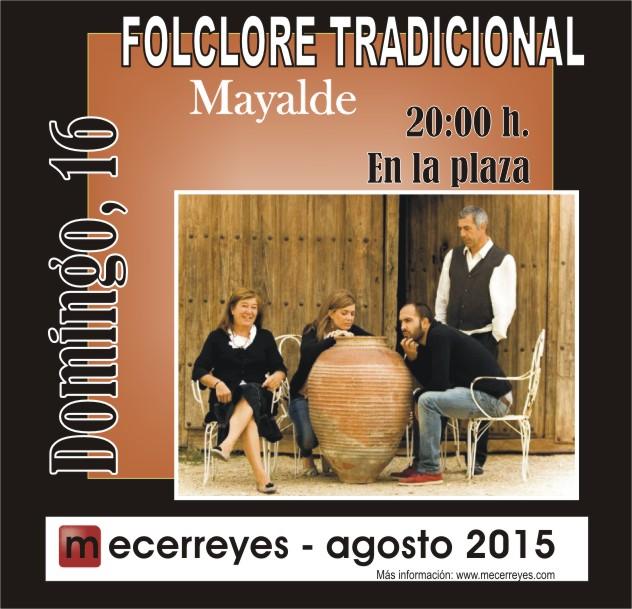Mecerreyes, Agosto Cultural 2015, Mayalde