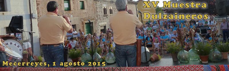 Dulzaineros 2015