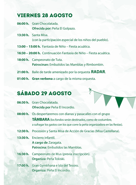 Mecerreyes, Programa de Fiestas 2015 (8)