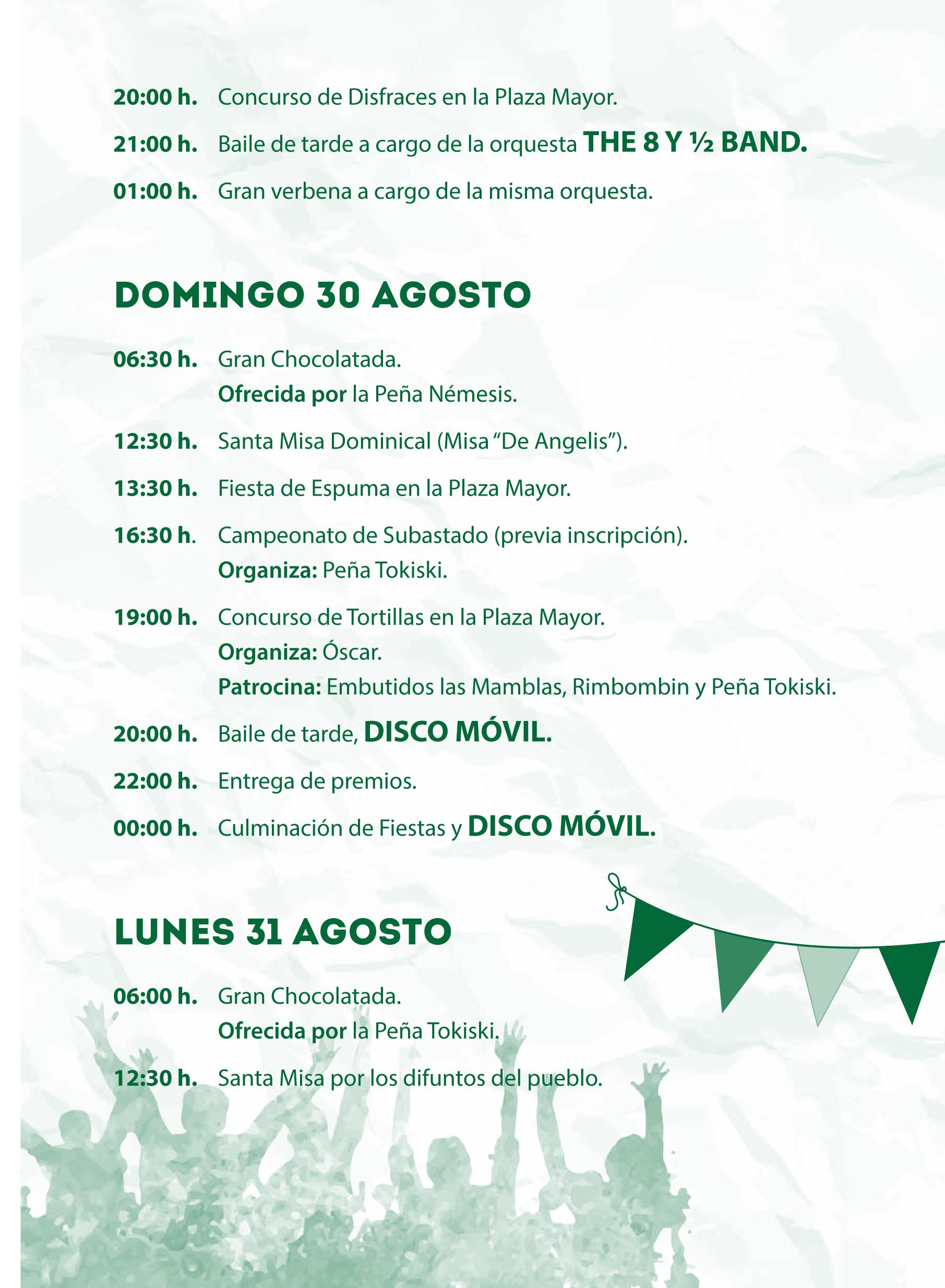 Mecerreyes, Programa de Fiestas 2015 (9)