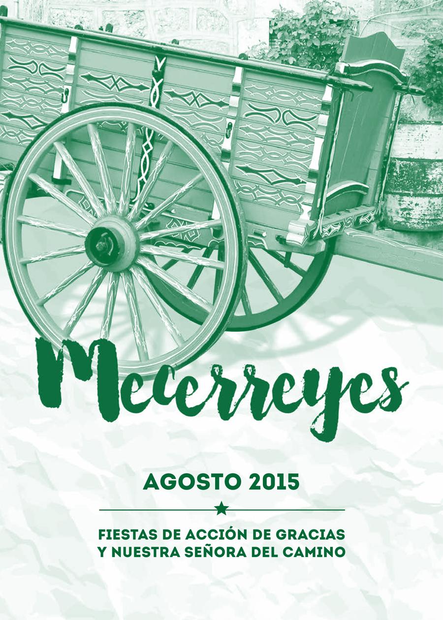 Mecerreyes, Programa de Fiestas 2015