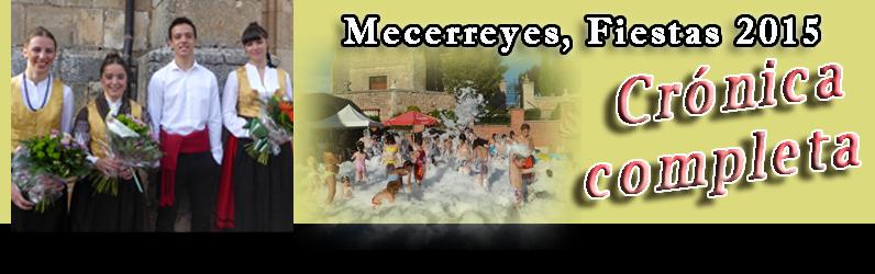 Mecerreyes, Fiestas agosto 2015