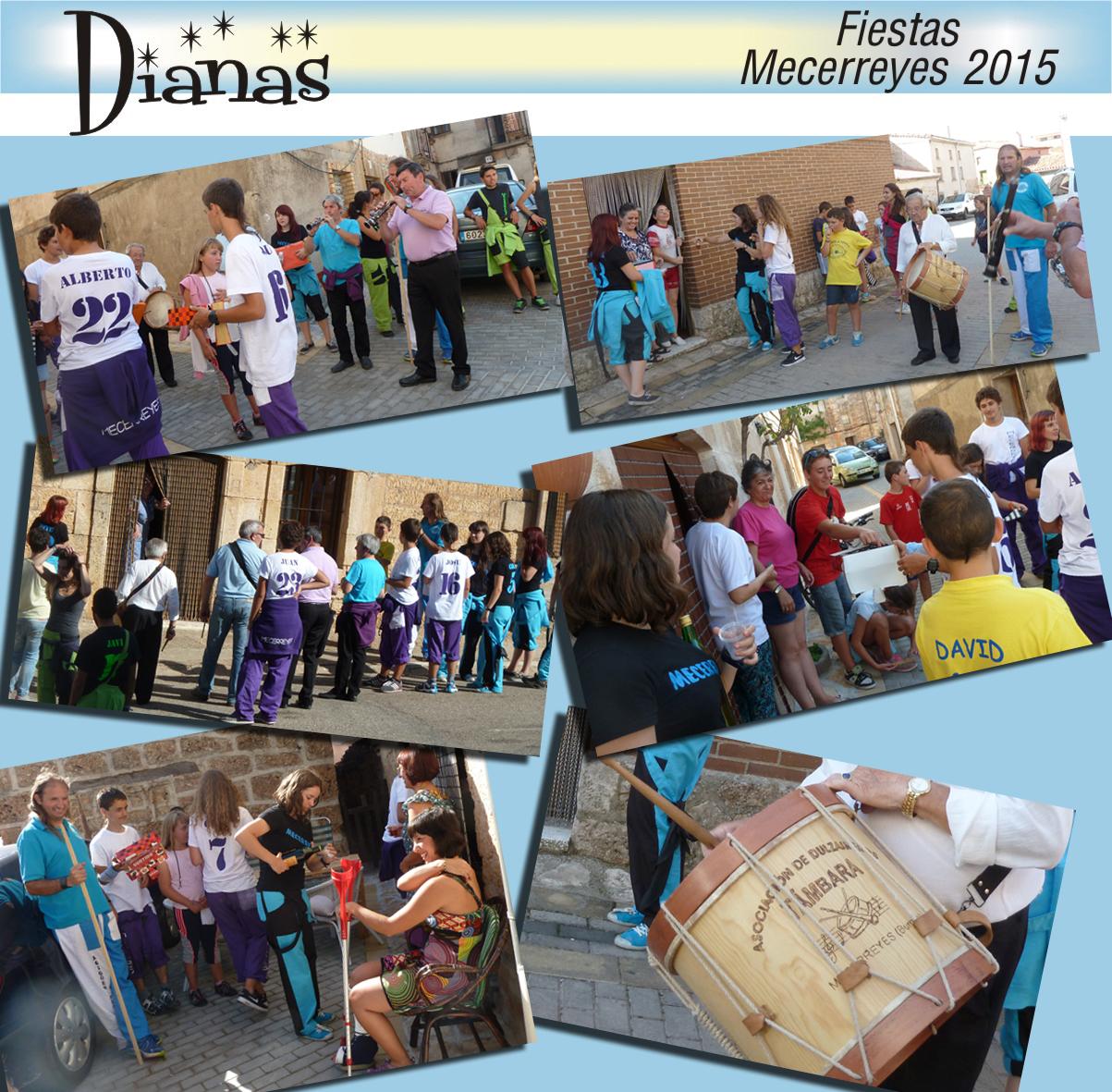 Mecerreyes, Dianas 2015