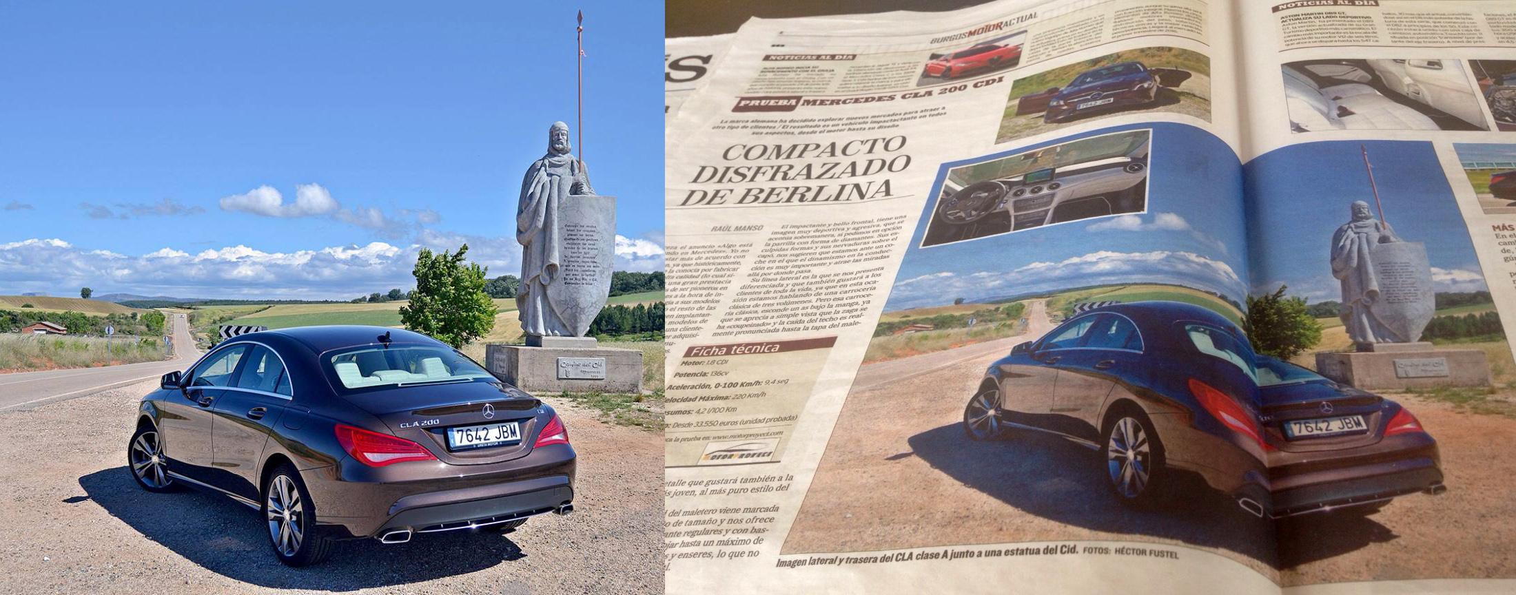 Mecerreyes, anuncio coche 2015