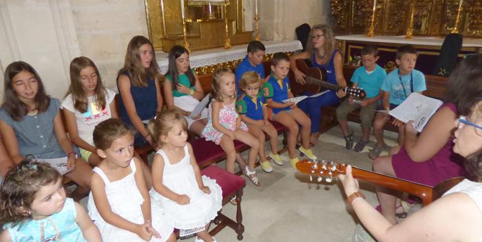 Mecerreyes, misa de niños 28-08-2015