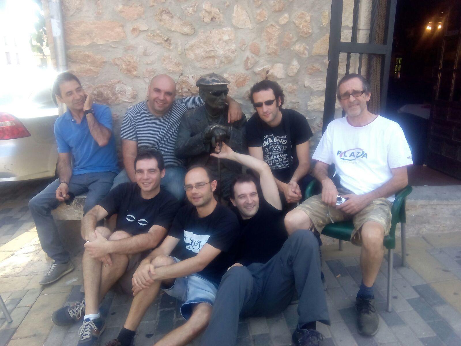 Orquesta The 8 y 1/2 Band. Mecerreyes, agosto 2015