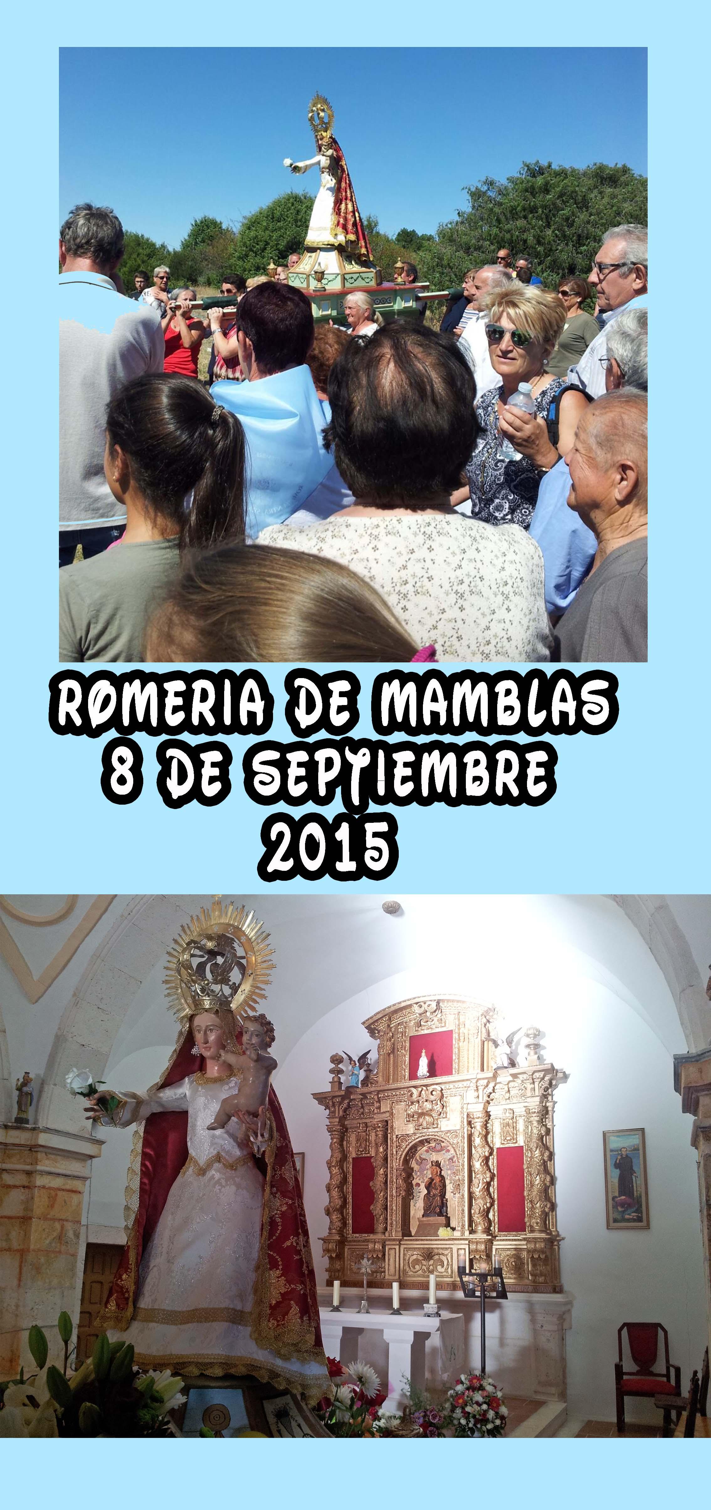 Romería de Mamblas, 8 septiembre 2015