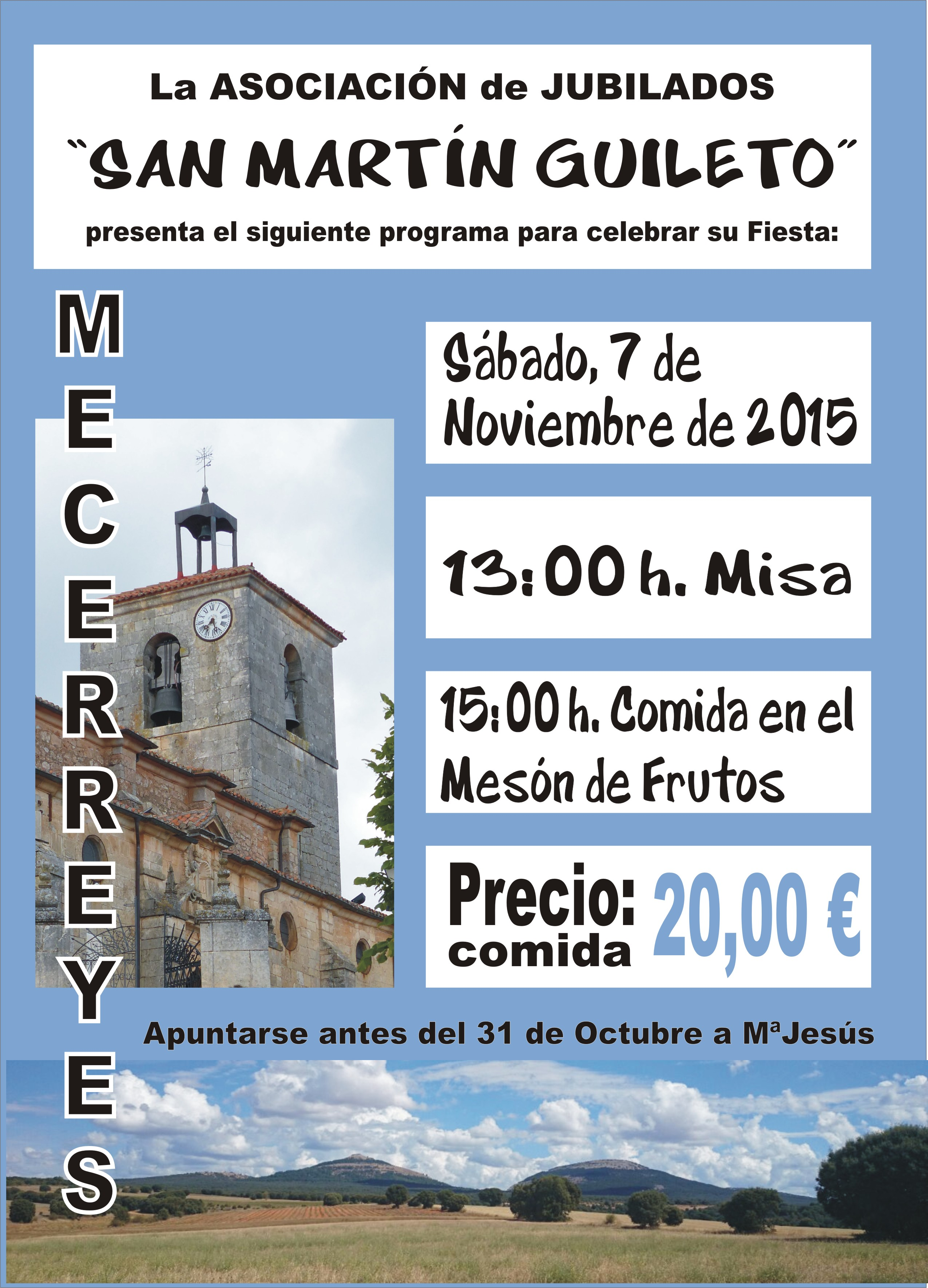 San Martín, Fiesta de la Asociación de Jubilados 2015