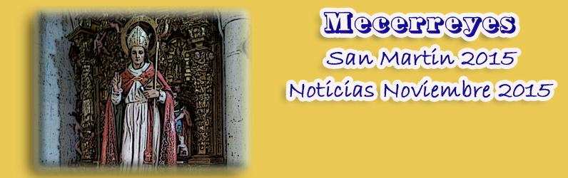 Noviembre 2015, Mecerreyes