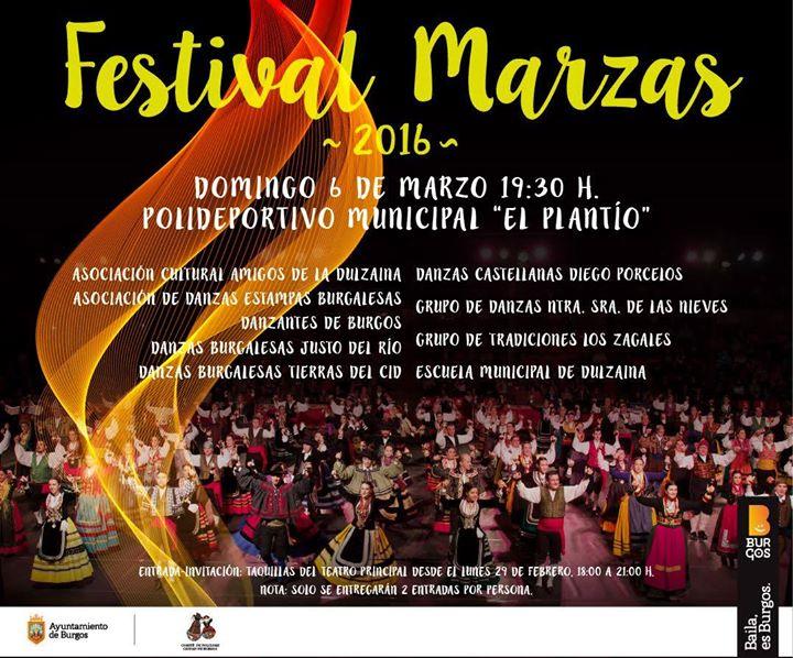Festival de Marzas en Burgos, 2016