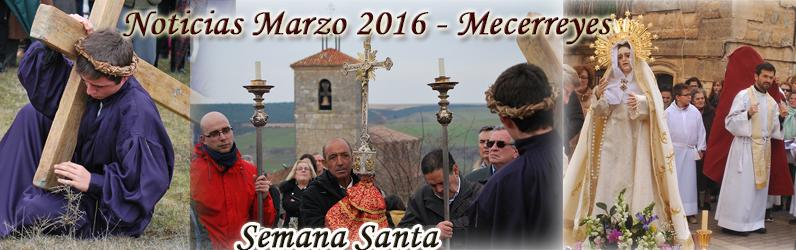 Noticias Marzo 2016 – Semana Santa