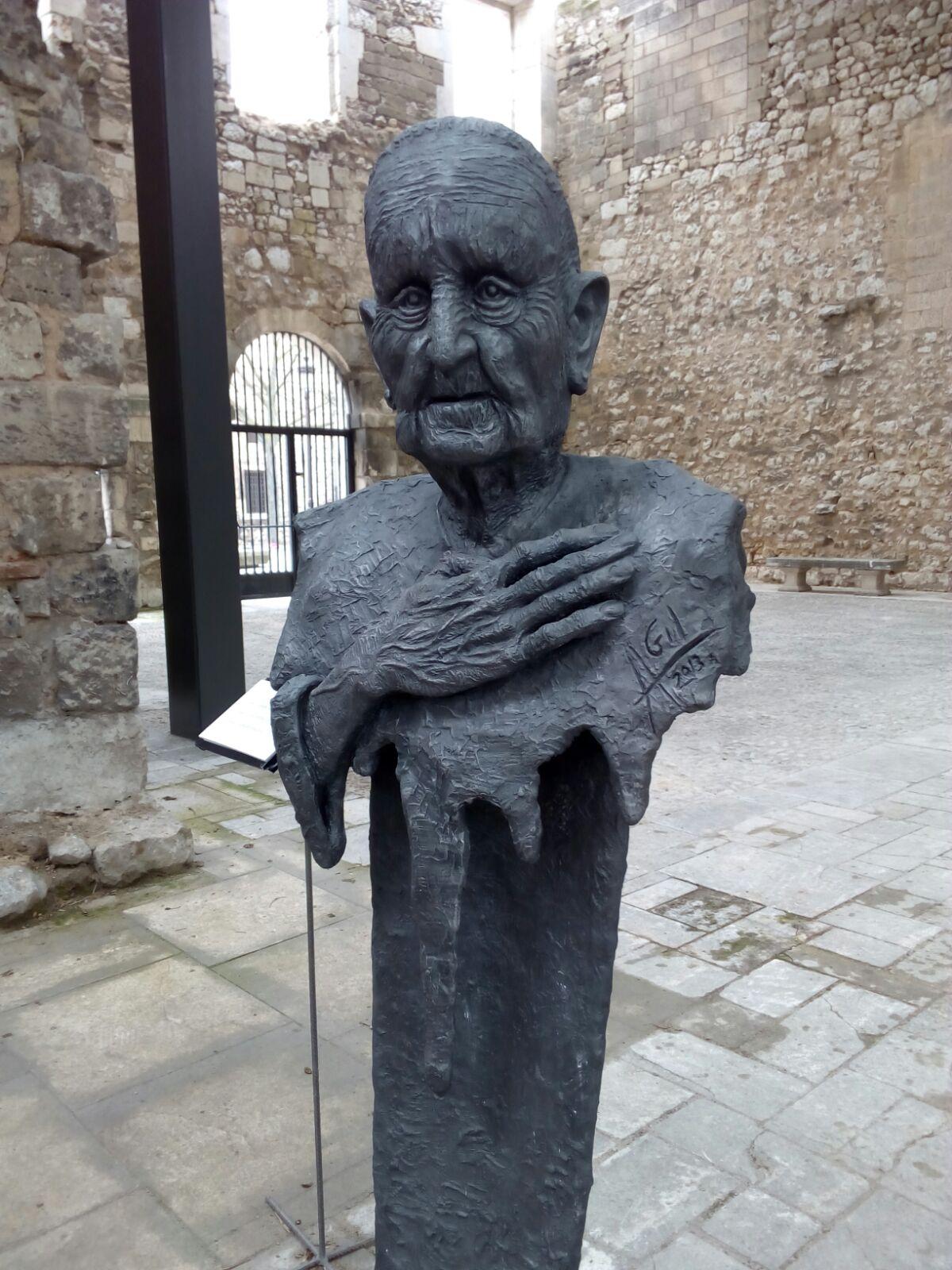 Mecerreyes. Obra de Ángel Gil expuesta en el Monasterío de San Juan de Burgos, Marzo-Abril 2016
