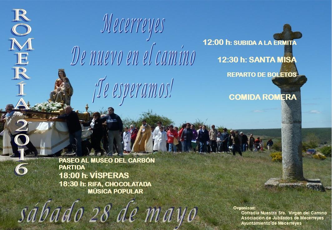 Cartel Romería 2016, Mecerreyes