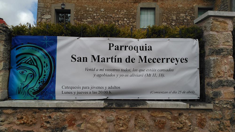 Mecerreyes, Catequesis Abril y Mayo de 2016