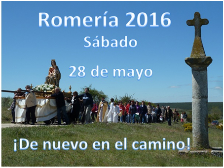 Romería Virgen del Camino, Mecerreyes Mayo 2016