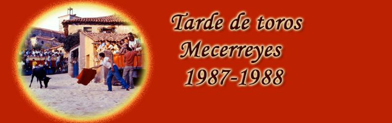 Tarde de toros – Mecerreyes 1987-1988