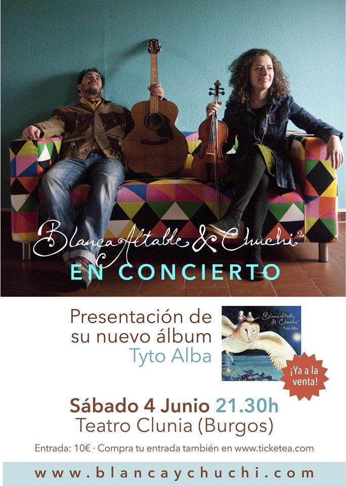 Blanca Altable & Chuchi, presentación Album Tyto Alba