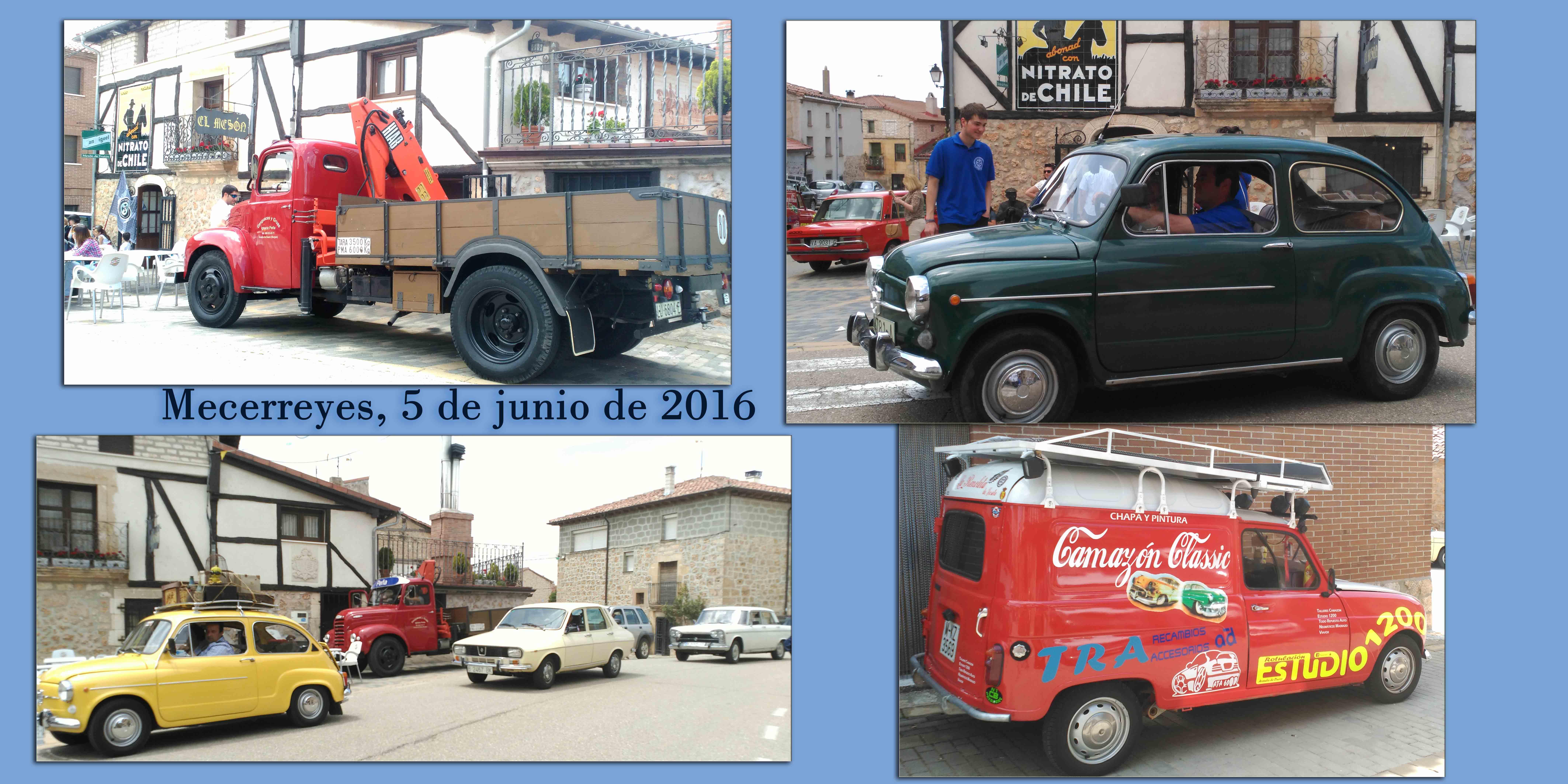 Encuentro de coches, Mecerreyes 5-06-2016