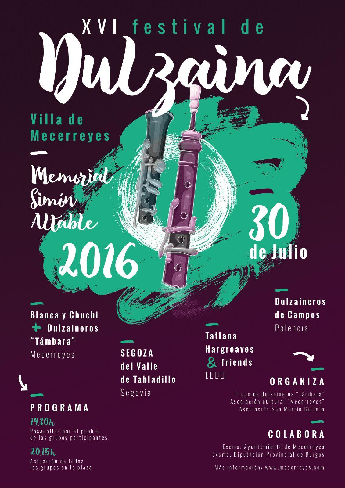 Mecerreyes, Festival de Dulzaina 2016