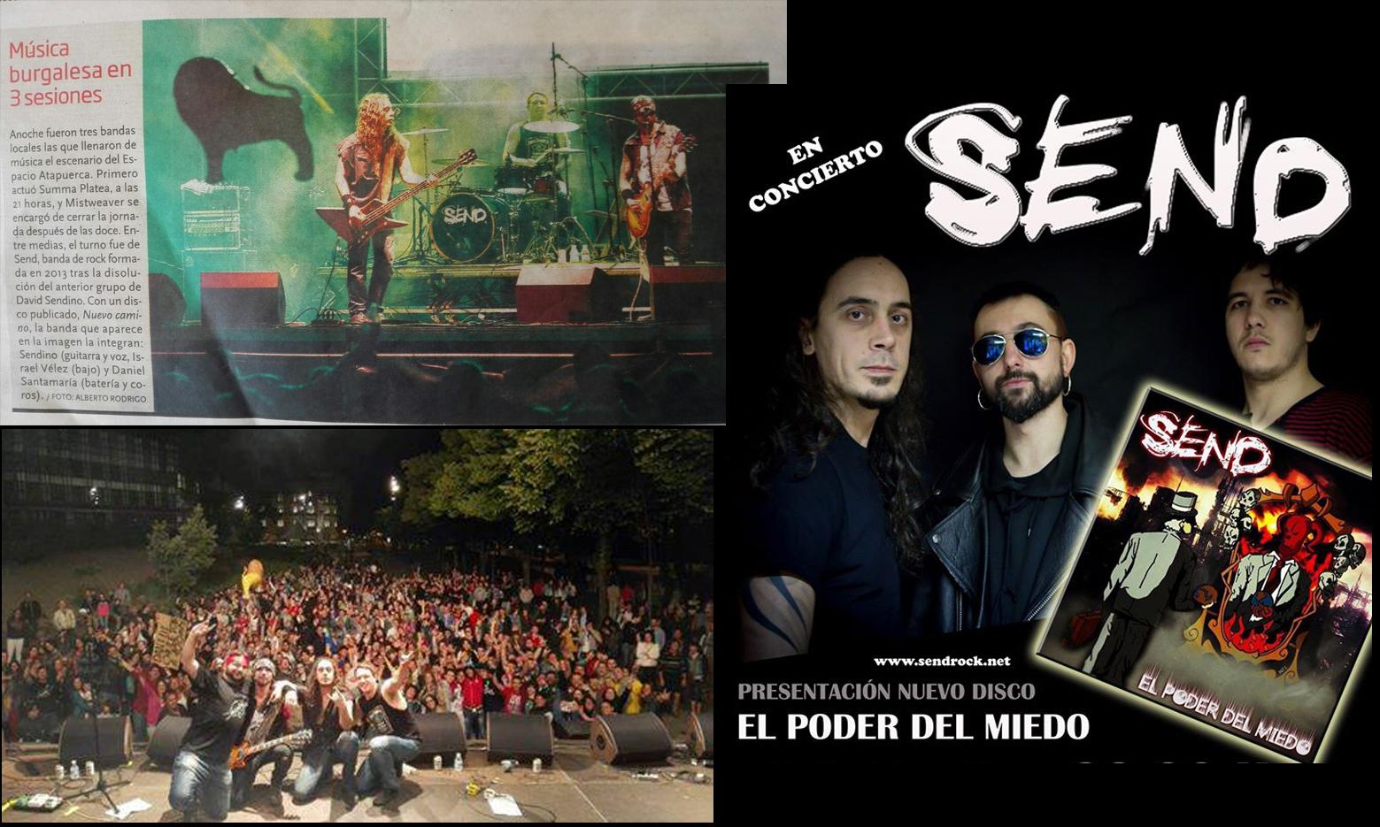Send - Con Daniel Santamaría Portal (batería, nieto de Juanito)