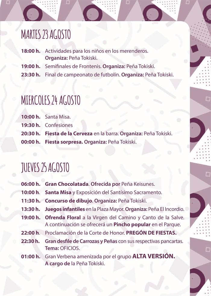 Programa de Fiestas, Mecerreyes 2016 (10)
