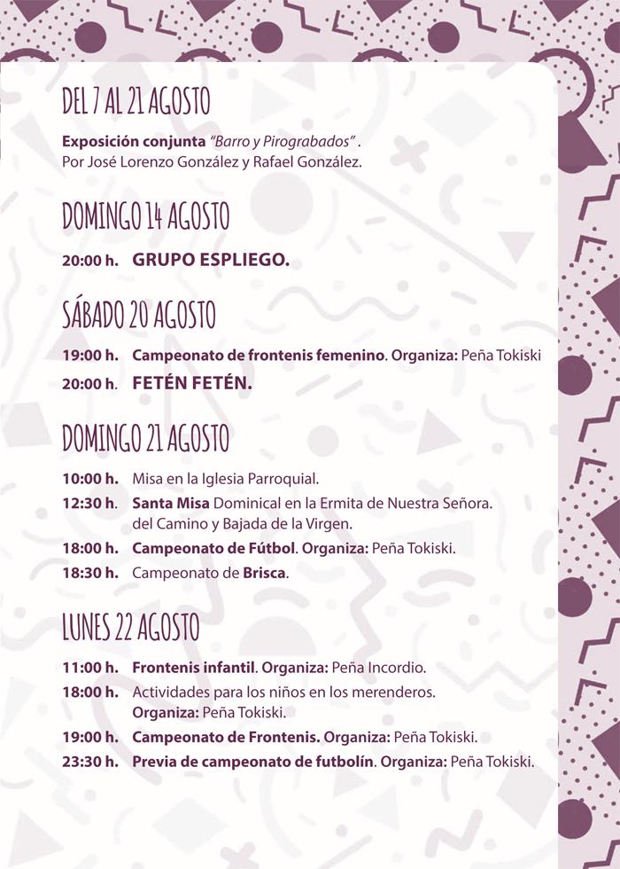 Programa de Fiestas, Mecerreyes 2016 (9)
